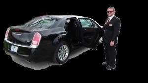 Chauffeur and Black Car