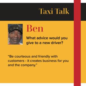 Taxi Driver Ben